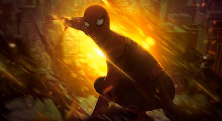Spider-Man C4D by Koondaiira