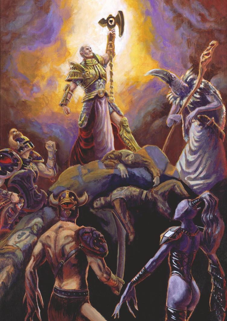 Allegory of Faith by Epsilorn