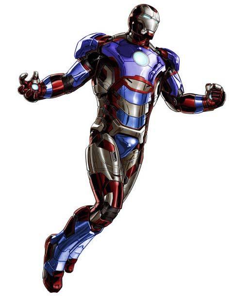 Iron Patriot Comic Iron Patriot Tony Stark by