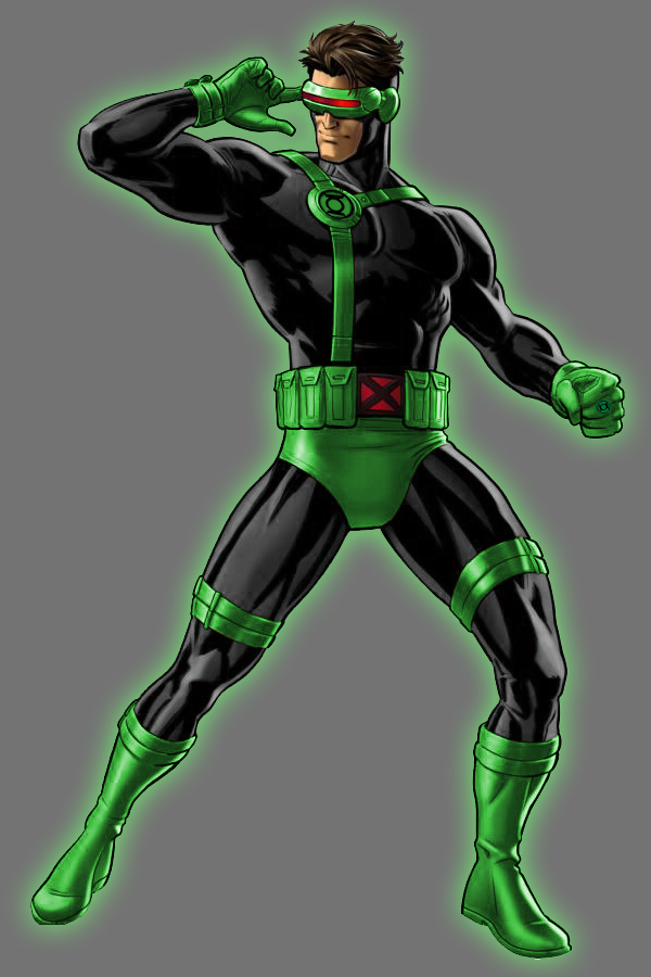 Image result for Cyclops Green Lantern
