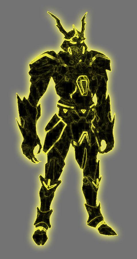 Yellow Lantern Mandarin (Energy Armor) by Lord-Lycan on DeviantArt