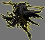Yellow Lantern Corvus Glaive