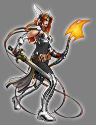 White Lantern Aldrif Odinsdottir by Lord-Lycan