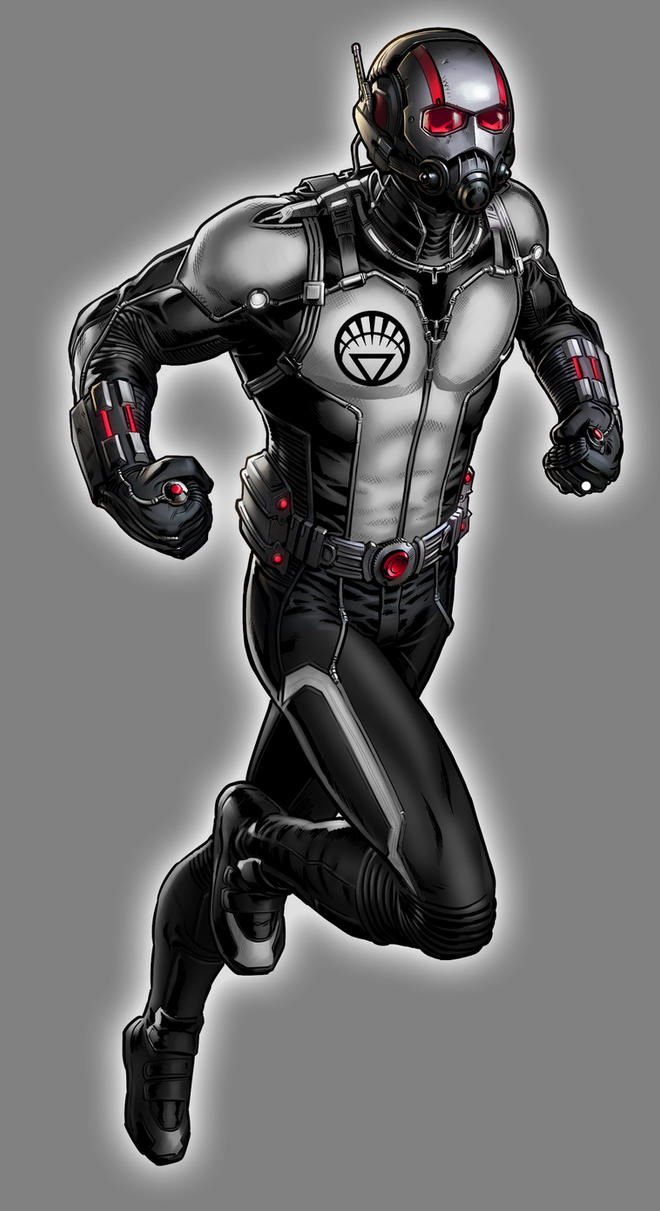 White Lantern Scott Lang by Lord-Lycan