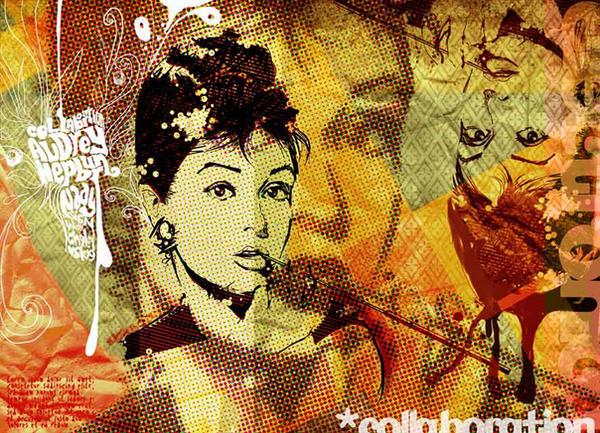Audrey Hepburn by nadydesign