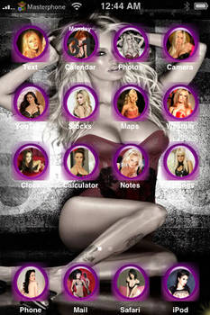 Porn Star iPhone Theme - Clean