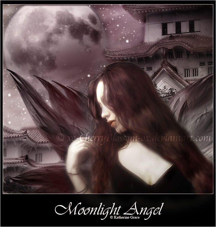 Moonlight Angel by Xo-CherryBlossom-oX
