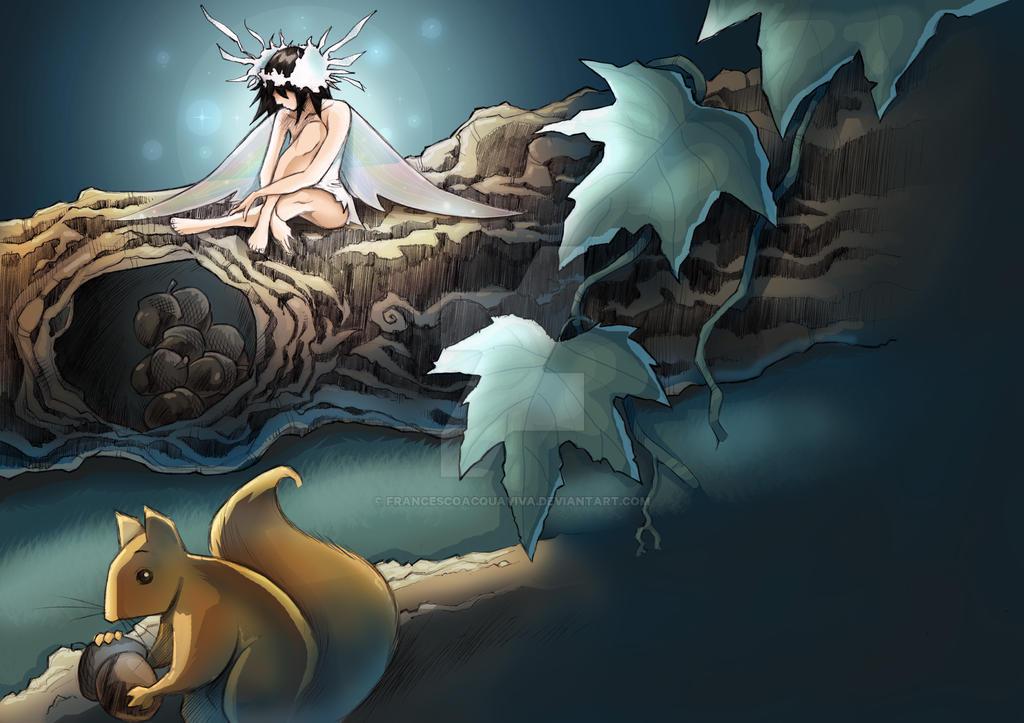 The sad fairy by francescoacquaviva