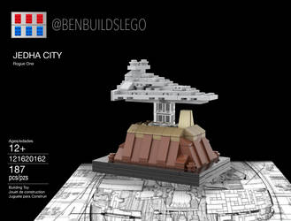 Lego Star Wars - Jedha City MOC (Box) by gopman766