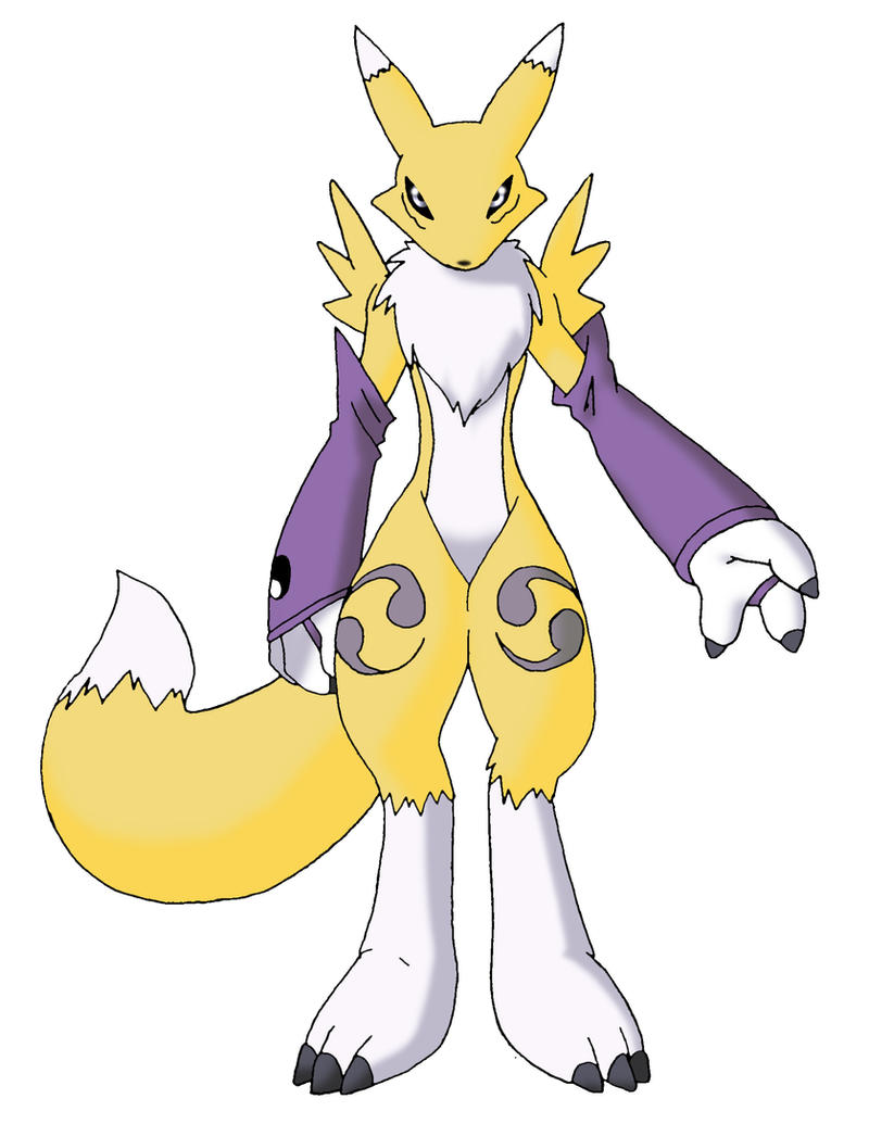 Renamon by KingLegato