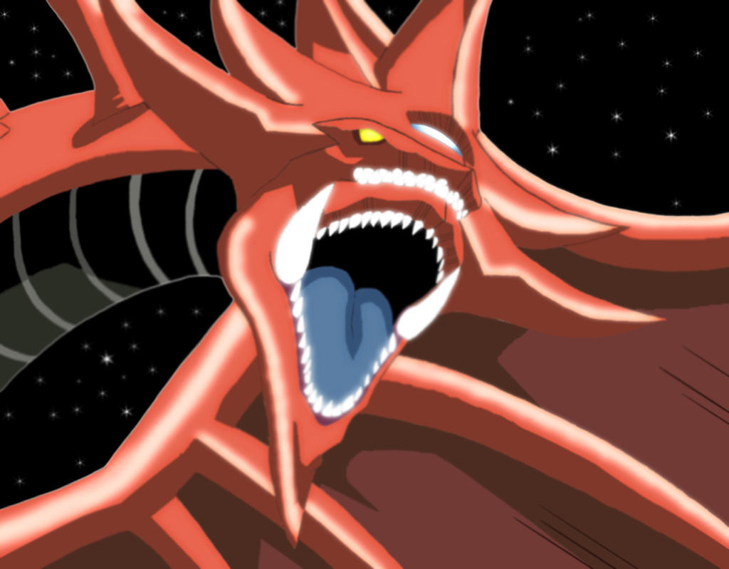 slifer the sky dragon by kinglegato on deviantart