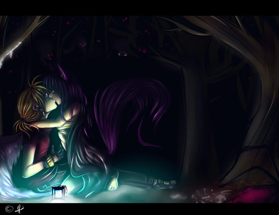 stolen kiss by elfi1991