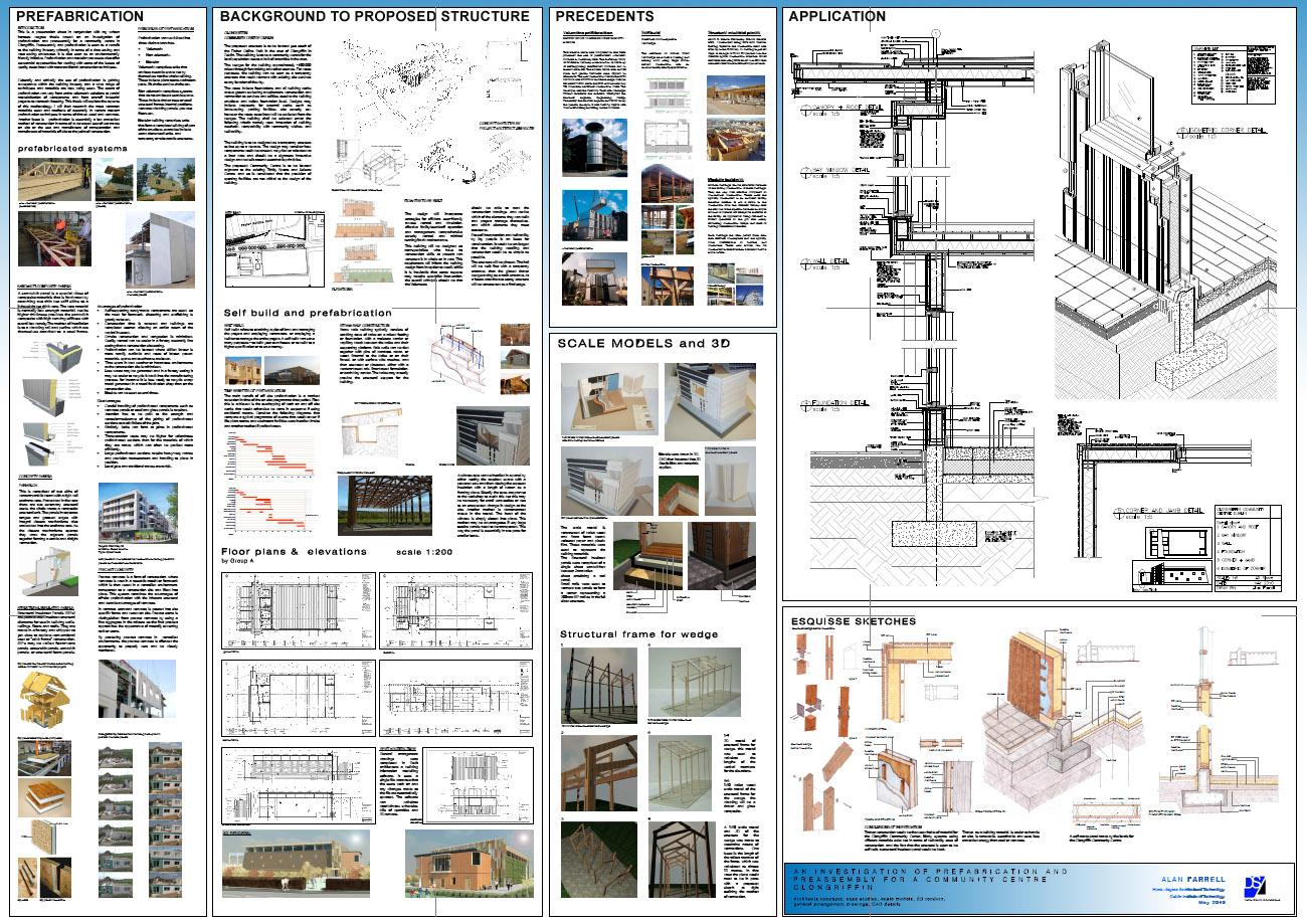 Thesis Presentation Sheet By AlanFarrell On DeviantArt
