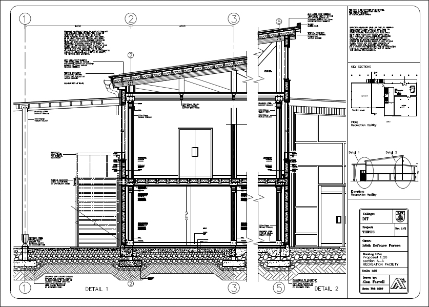 section through timber building by alanfarrell on deviantart