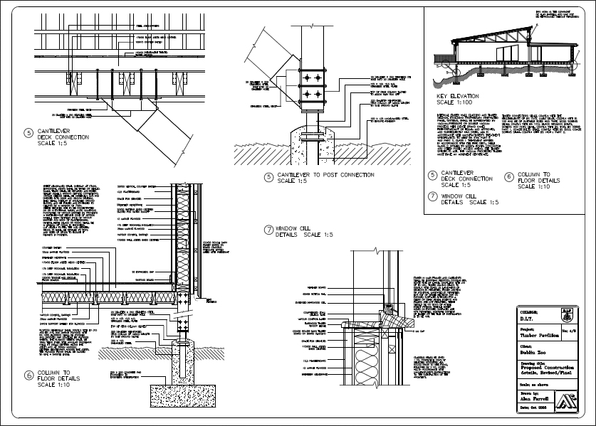 Construction Details In Timber By Alanfarrell On Deviantart