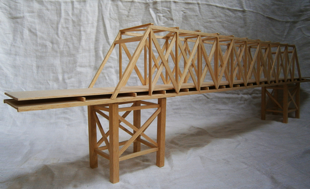 Balsa Wood Truss Bridge By Alanfarrell On Deviantart