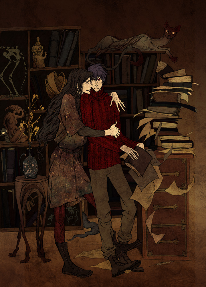 Library by Hellga