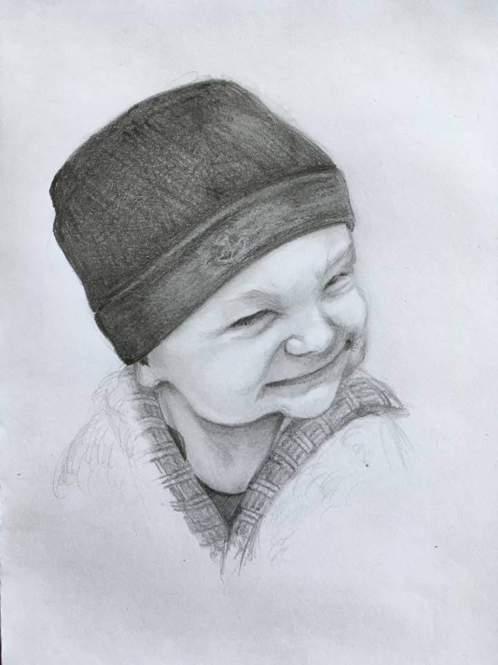 30min/Sketch - Nephew by Hihadruka
