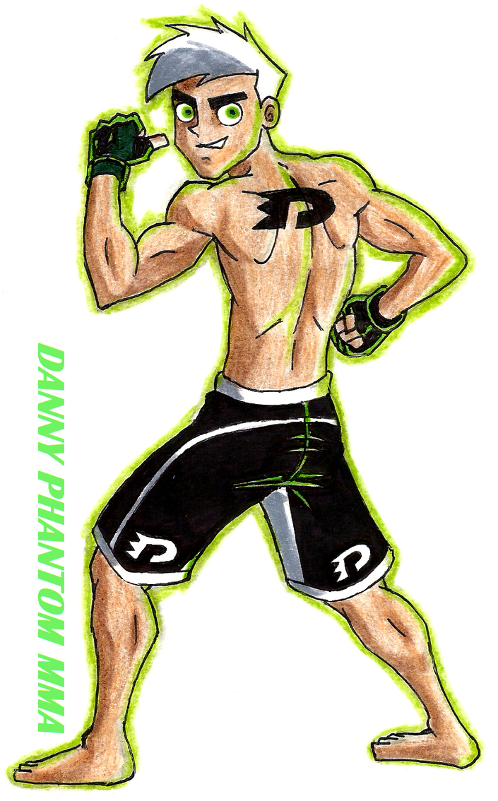Danny phantom MMA by 09tuf on DeviantArt