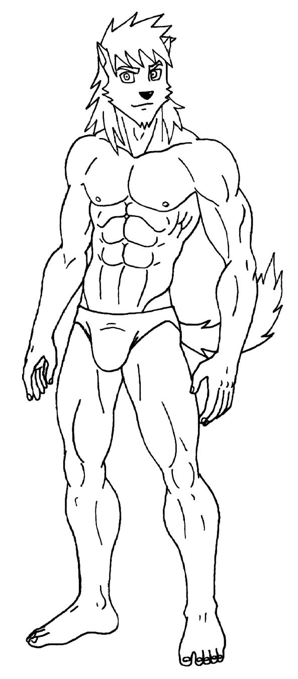 Drago - Lineart by 09tuf