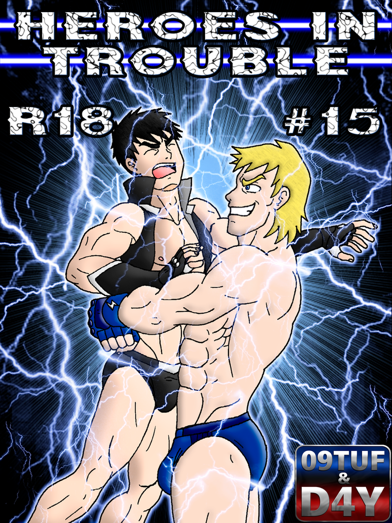 Heroes In Trouble 15 - Cover - PATREON by 09tuf