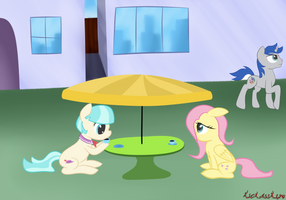 tea time with the shy ones by kickassking