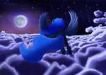 Luna's Night Flight