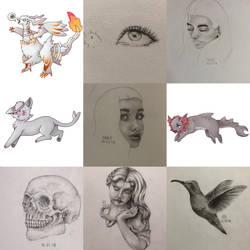 2018 art but minus 3 months rip by imashoeee