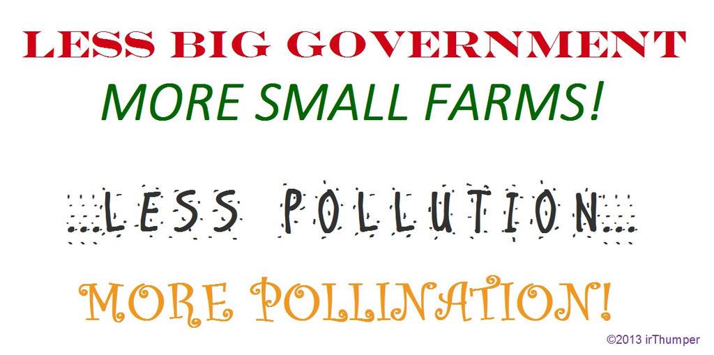 Less Big Government...