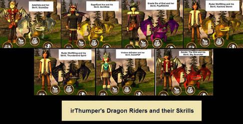 My SOD Dragon Riders and Skrills