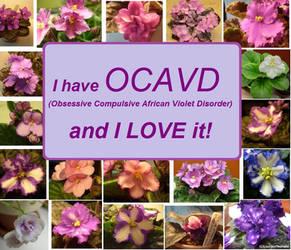 OCAVD Obsessive Compulsive African Violet Disorder