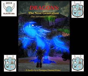 My HTTYD FanFic Cover NaNoWriMo 2018