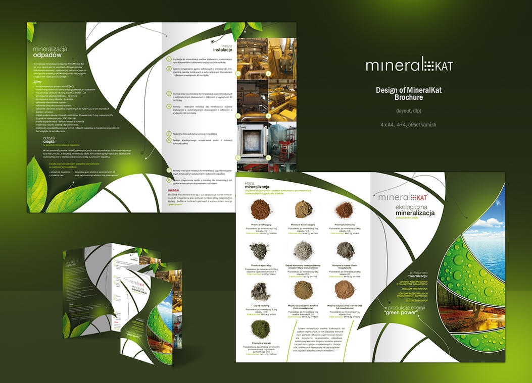 MineralKat - Brochure A4 by pho3nix-bf on DeviantArt