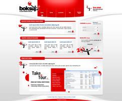 boksuj.pl layout by pho3nix-bf