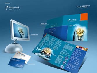 InvestLink Identity  Design by pho3nix-bf