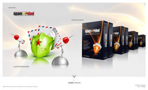 SpamRebel - Logo - Icon - Box
