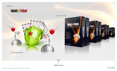 SpamRebel - Logo - Icon - Box by pho3nix-bf