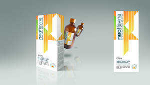 Neoflavina Package Design