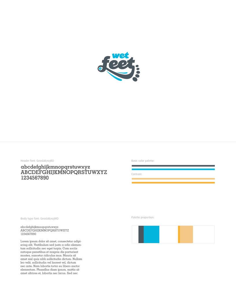 Logo - Wet Feet by pho3nix-bf
