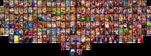 Capcom vs SNK 3 Fan Roster