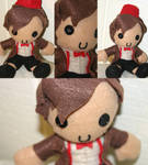 Eleventh Doctor plushie