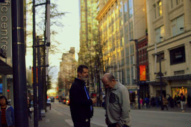 two men in vancouver