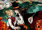 Moony and Padfoot - Halloween