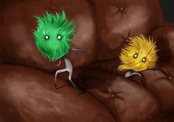 Grass Masks: Ashens' Playmobil Advent Calendar by Sirilu