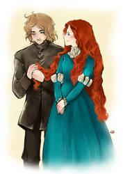 Secret Sansa: Ned loves my hair