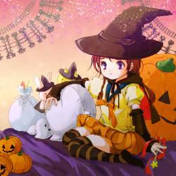 Sailor Halloween by undo-Ando-and
