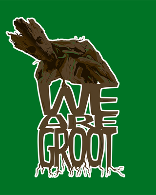 Guardians of the Galaxy - We Are Groot. by australian-spy
