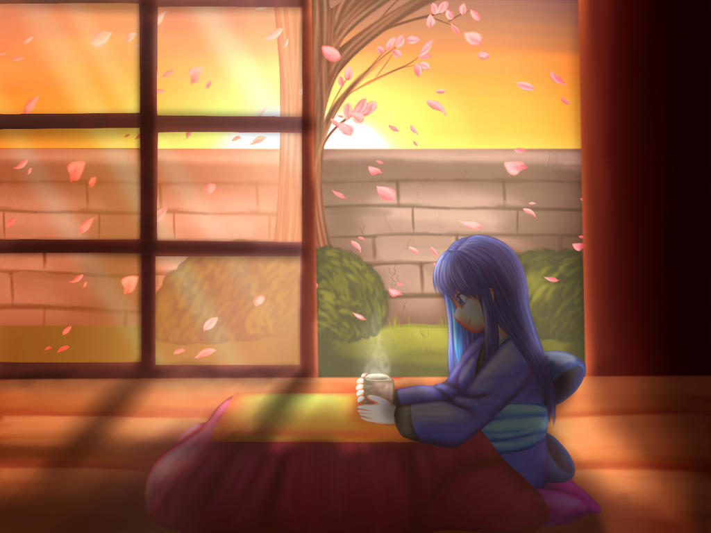 Kotatsu Tea by Fuyuko-Yuki