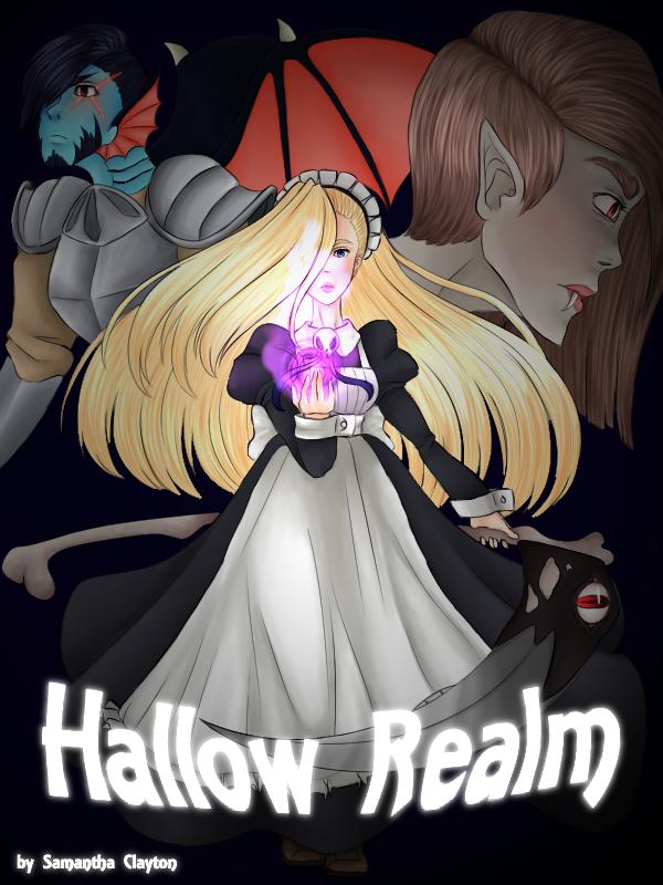 Hallow Realm - Cover Art by Fuyuko-Yuki
