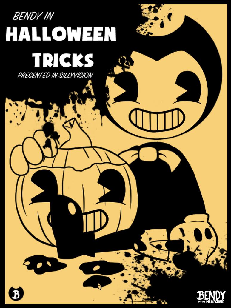 Bendy in - Halloween Tricks Poster by Fuyuko-Yuki